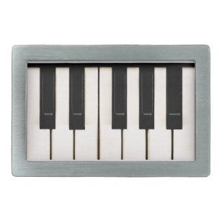 ピアノ鍵 長方形ベルトバックル