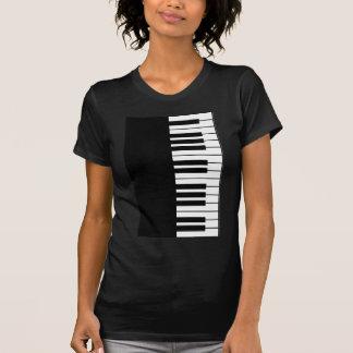 ピアノ鍵 Tシャツ