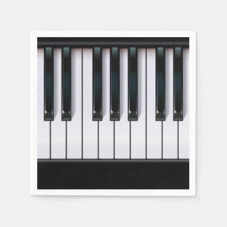 ピアノ スタンダードカクテルナプキン