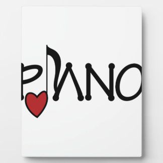 ピアノ フォトプラーク