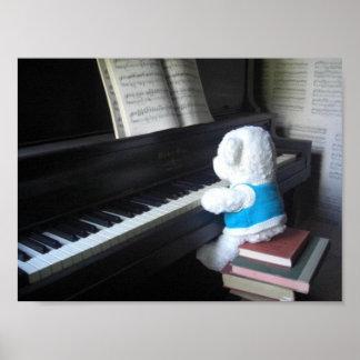 ピアノ ポスター