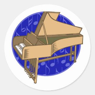 ピアノ ラウンドシール