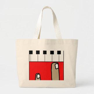 ピアノ ラージトートバッグ