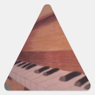 ピアノ 三角形シール