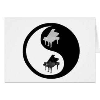 ピアノYingヤン カード