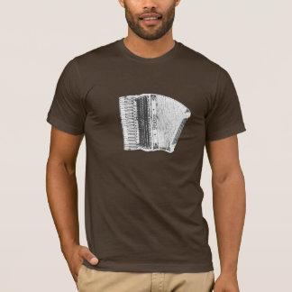 ピエトロのアコーディオンのクレヨン Tシャツ