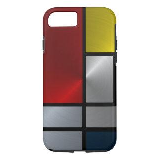 ピエト・モンドリアンの構成(鋼鉄) iPhone 8/7ケース