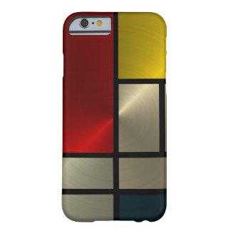 ピエト・モンドリアンの構成(Goldl) Barely There iPhone 6 ケース
