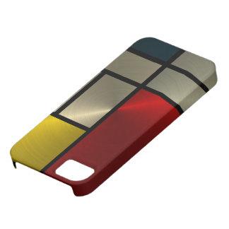 ピエト・モンドリアンの構成(Goldl) iPhone SE/5/5s ケース