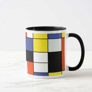 ピエト・モンドリアンの構成A -抽象的な近代美術 マグカップ
