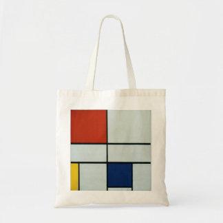 ピエト・モンドリアンの近代美術 トートバッグ