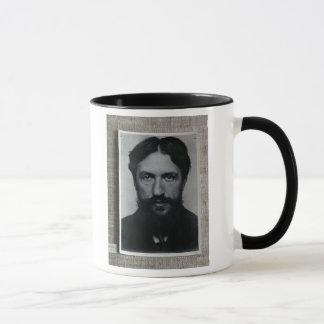 ピエト・モンドリアン(1872-1944年)、c.1910 (b/wの写真) マグカップ