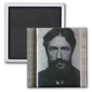 ピエト・モンドリアン(1872-1944年)、c.1910 (b/wの写真) マグネット
