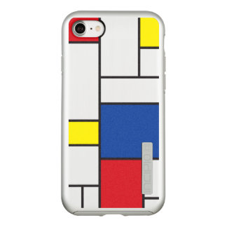 ピエト・モンドリアンMinimalist De Stijlの近代美術 Incipio DualPro Shine iPhone 8/7ケース
