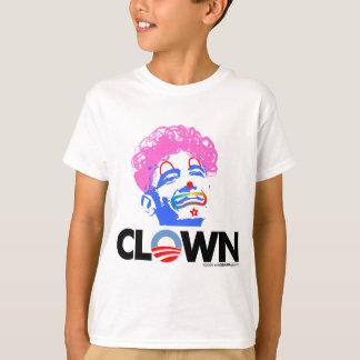 ピエロのグラフィック Tシャツ