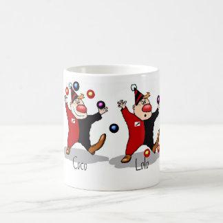 ピエロのコーヒー・マグの束 コーヒーマグカップ