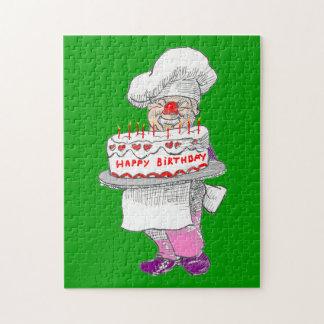 ピエロのパン屋のハッピーバースデーのパズル ジグソーパズル