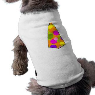 ピエロの水玉模様のGumballのタイ ペット服