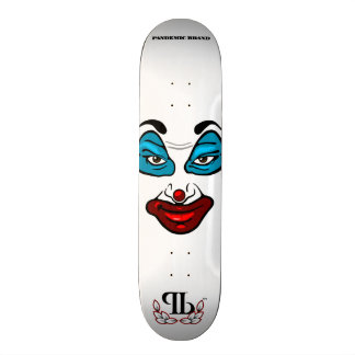 ピエロの顔 カスタムスケートボード