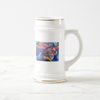ピエロの魚のアクアリウム ビールジョッキ