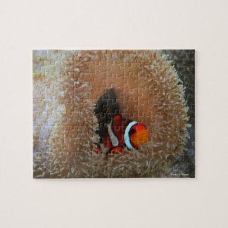 ピエロの魚のパズル ジグソーパズル