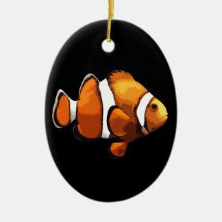 ピエロの魚 セラミックオーナメント