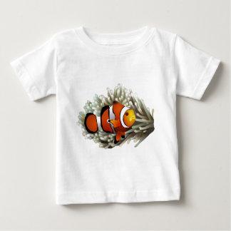 ピエロの魚 ベビーTシャツ