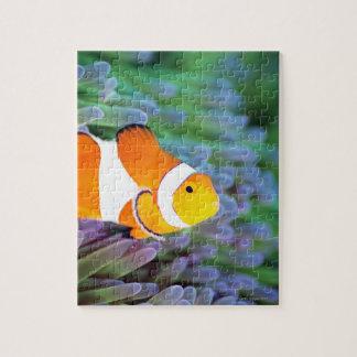 ピエロのanemonefish ジグソーパズル
