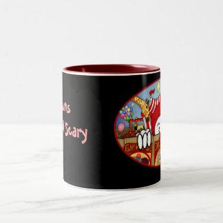 ピエロのKilroyの恐いマグ ツートーンマグカップ