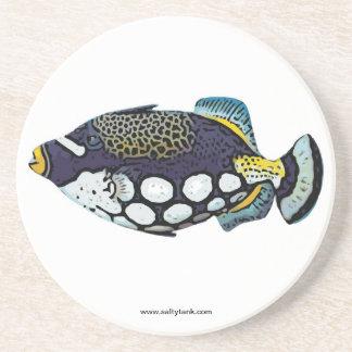 ピエロのTriggerfishのコースター コースター