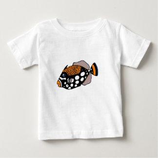 ピエロのTriggerfish ベビーTシャツ