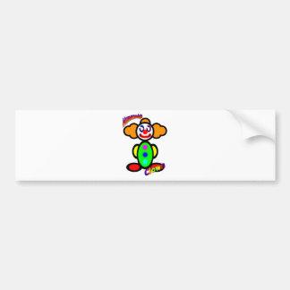 ピエロ(ロゴと) バンパーステッカー