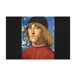 ピエロdiロレンツォde Medici', Domenico_Portraits キャンバスプリント
