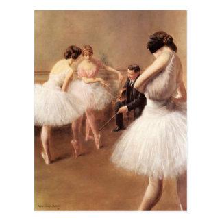 ピエールのキャリアBelleuseによるバレエのレッスン ポストカード