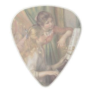 ピエールピアノのルノアール|の若い女の子 アセタール ギターピック