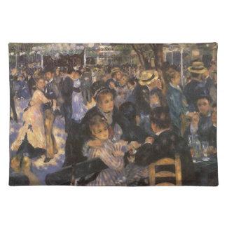 ピエールルノアールによってLe Moulin deのla Galetteで踊って下さい ランチョンマット