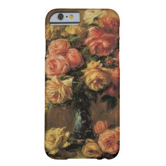 ピエールルノアールのヴィンテージのファインアート著つぼのバラ BARELY THERE iPhone 6 ケース