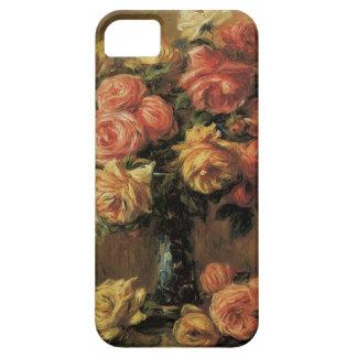 ピエールルノアールのヴィンテージのファインアート著つぼのバラ iPhone SE/5/5s ケース