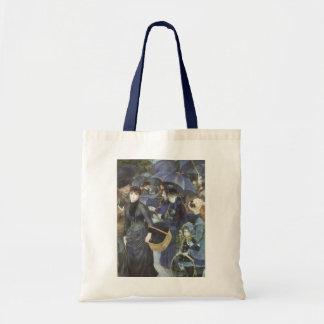 ピエールルノアールのヴィンテージの印象主義著傘 トートバッグ