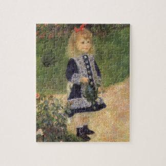 ピエールルノアール著じょうろを持つ女の子 ジグソーパズル