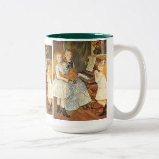 ピエールルノアール著Catulle Mendesの娘 ツートーンマグカップ
