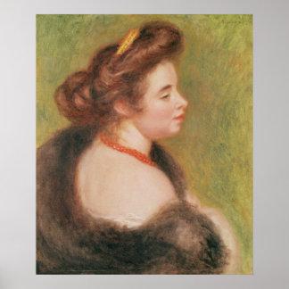 ピエール夫人のモーリス・ドニルノアール|のポートレート ポスター
