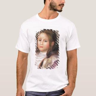 ピエール子供2のルノアール|のポートレート Tシャツ