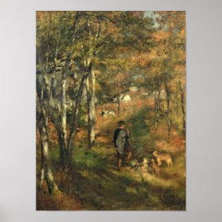 ピエール森林のルノアール|ジュールLe Coeur ポスター