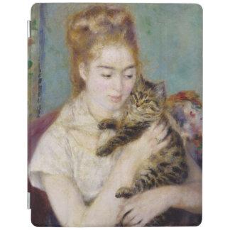 ピエール猫を持つルノアール|の女性 iPadスマートカバー