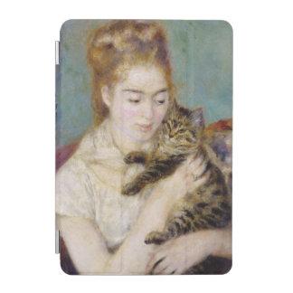 ピエール猫を持つルノアール|の女性 iPad MINIカバー