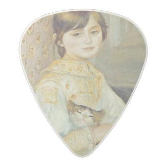 ピエール猫を持つルノアール|ジュリーManet アセタール ギターピック
