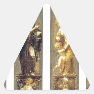 ピエール著芸術、富、喜びおよび哲学 三角形シール