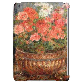 ピエール銅の洗面器のルノアール|のゼラニウム