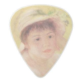 ピエール麦わら帽子のルノアール|の女性 アセタール ギターピック